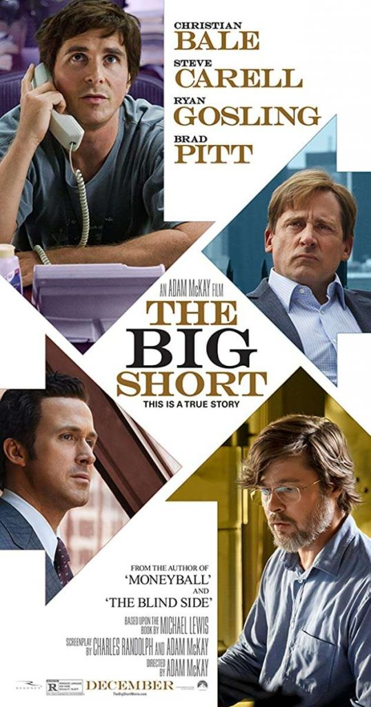 Movies About Stock Market: the big short