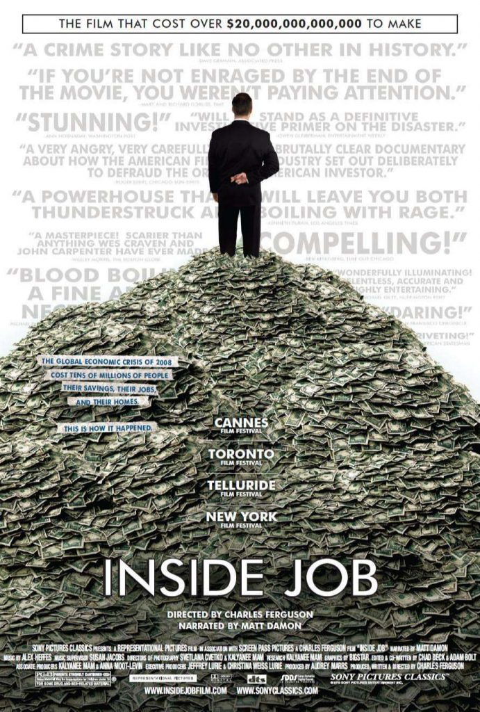 Movies About Stock Market: inside job