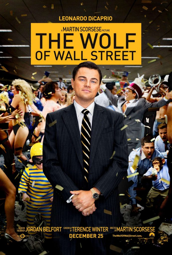 Movies About Stock Market: the wolf of wall street