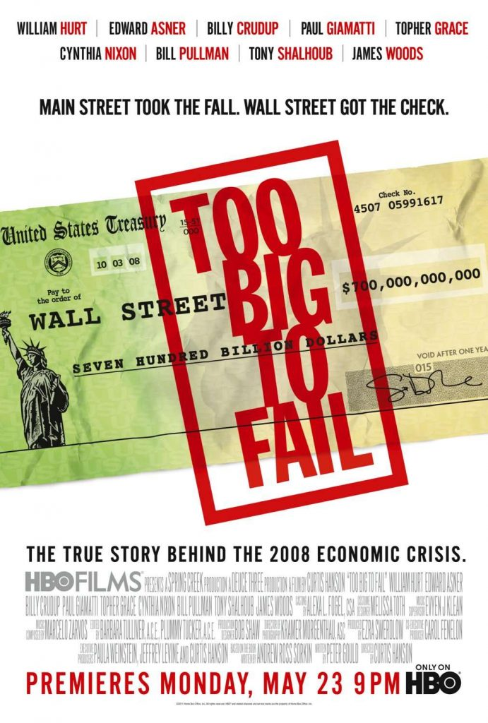 Movies About Stock Market: too big to fail