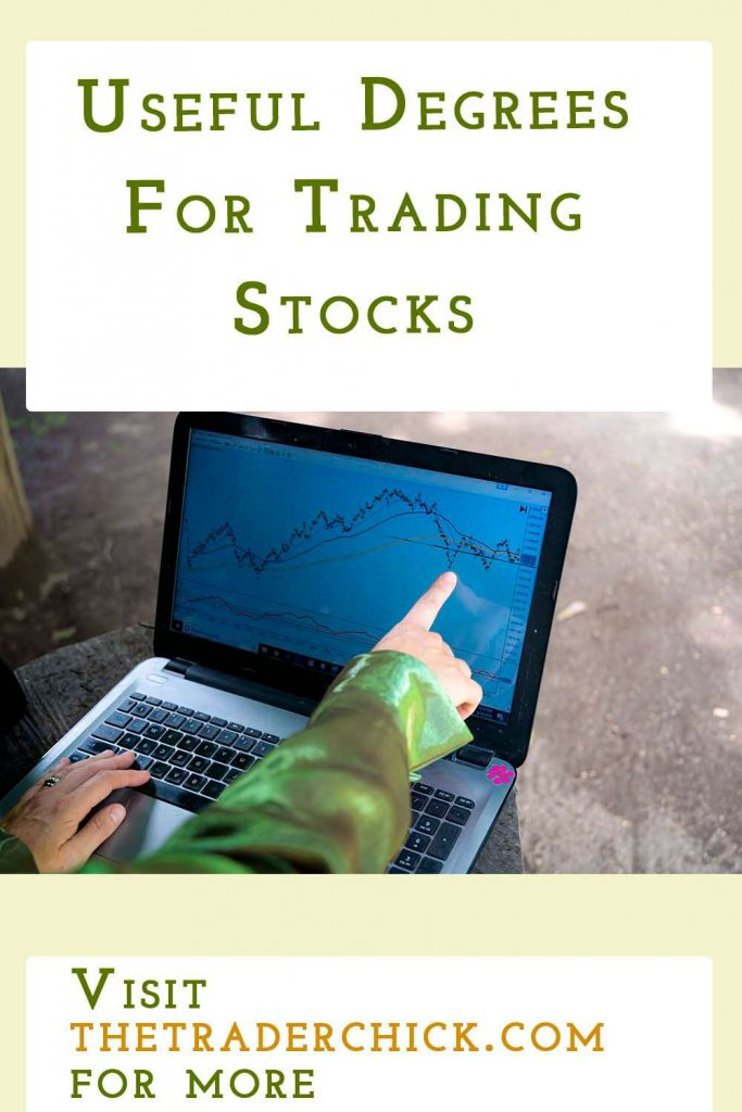 degrees for trading stocks