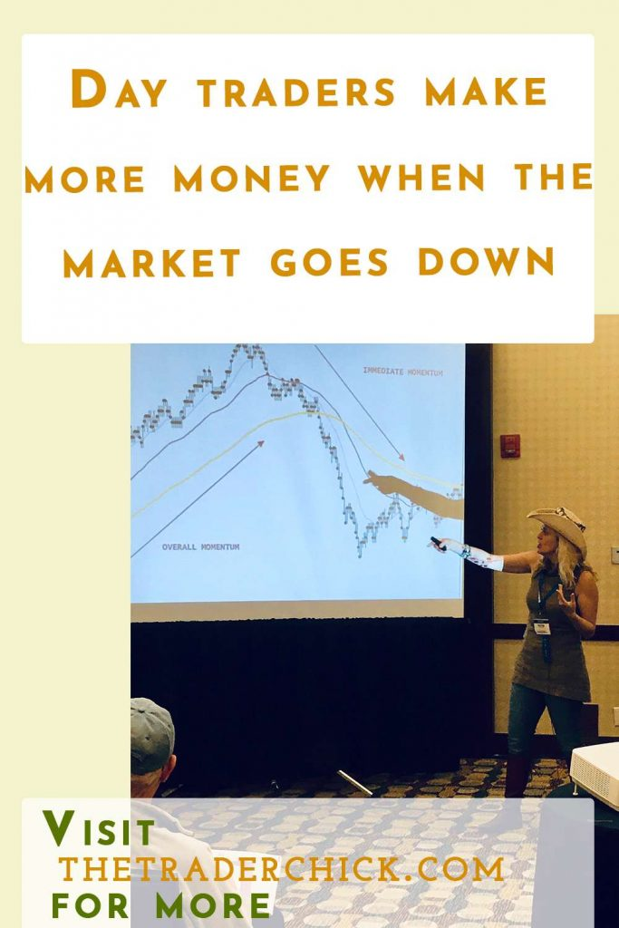 Did you know that day traders make more money when the market goes down?