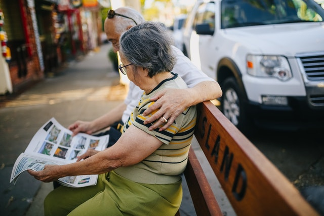 Retirees reading the news paper. What is considered income for retirees?